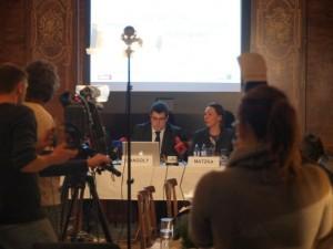 Pressekonferenz Vorstellung EthnOpinion